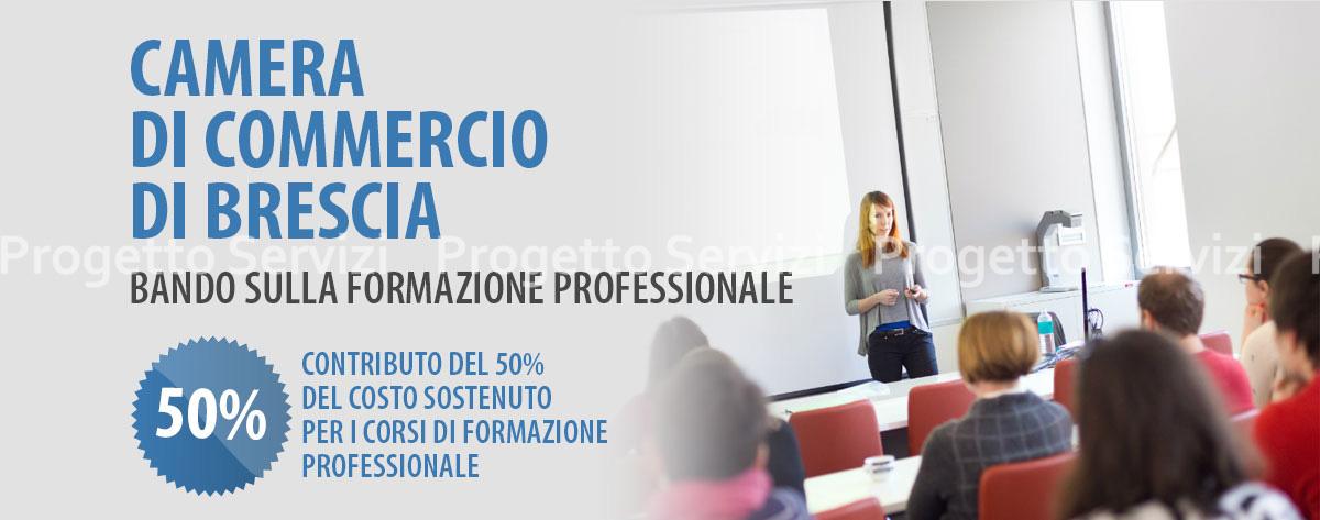 BANDO SULLA FORMAZIONE PROFESSIONALE - Progetto Servizi